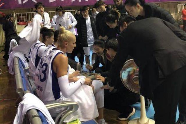 赢了47分 四川女篮主场发飙