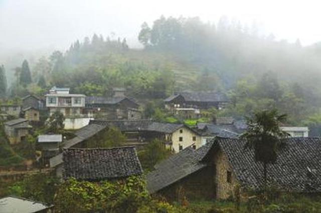 四川泸州叙永分水镇发生山体滑坡 现场有房屋损毁