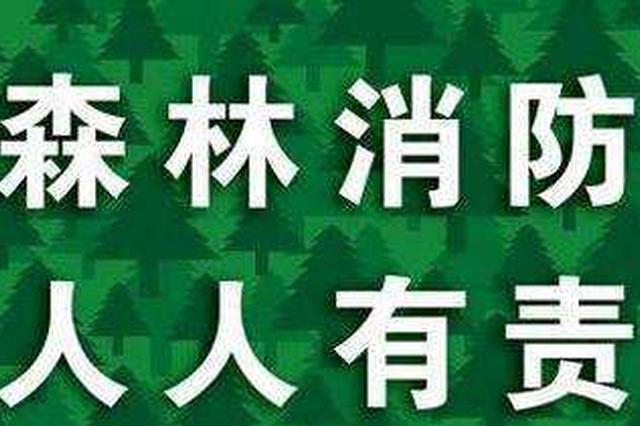 四川林区野外火源管理将实行行政首长负责制