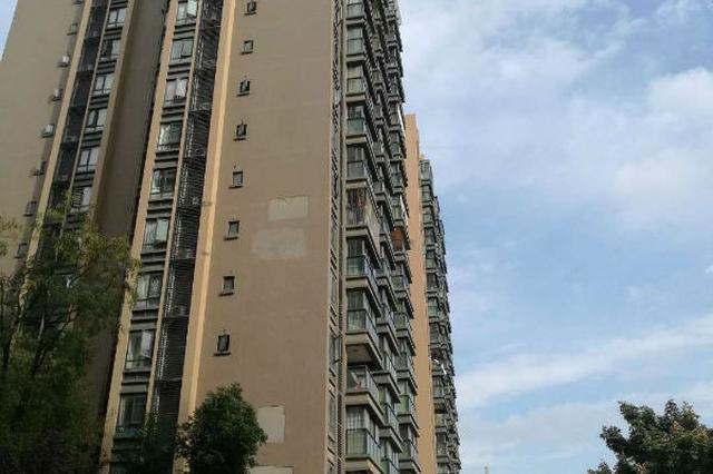 招商雍华府楼房外墙墙面脱落 市房管局介入开发商将维修
