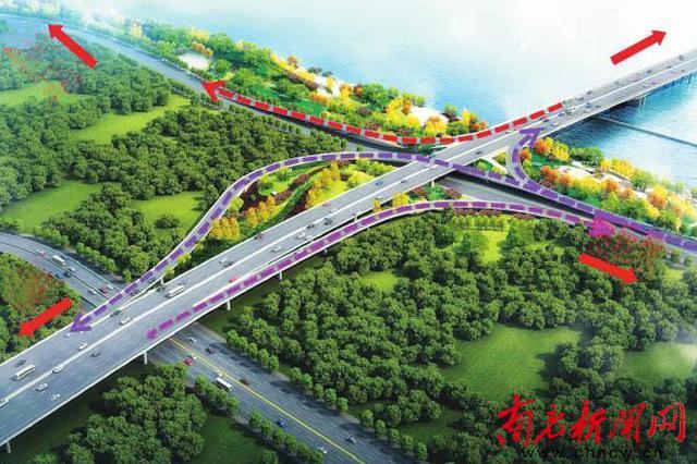将军路大桥5月开建 南充再添城市新地标