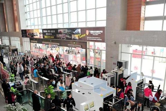 出行客流量达到平日3倍 广元加开3趟炫乐彩票方向动车