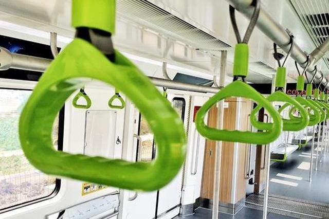 恭喜成都地铁8号线喜提新车 预计明年底开通