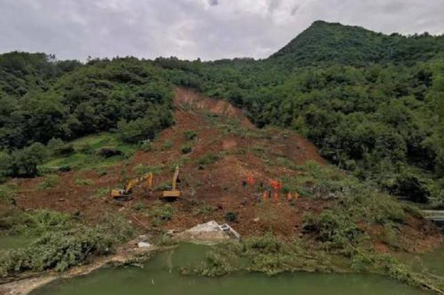 重庆市城口县发生山体滑坡 造成1人死亡6人失联