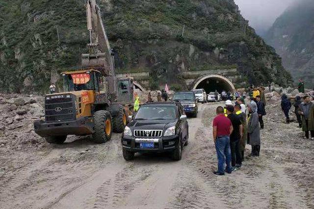 泥石流灾害后 阿坝州汶川县最新路况了解一下