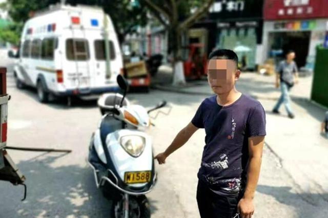 无证、酒驾还套牌 德阳罗江小伙被逮现行