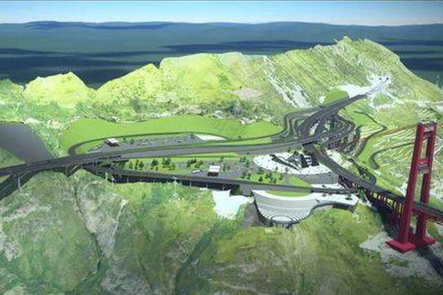 """桥隧比80%!四川又一条""""云朵上的高速""""开工 直达贡嘎山脚下"""