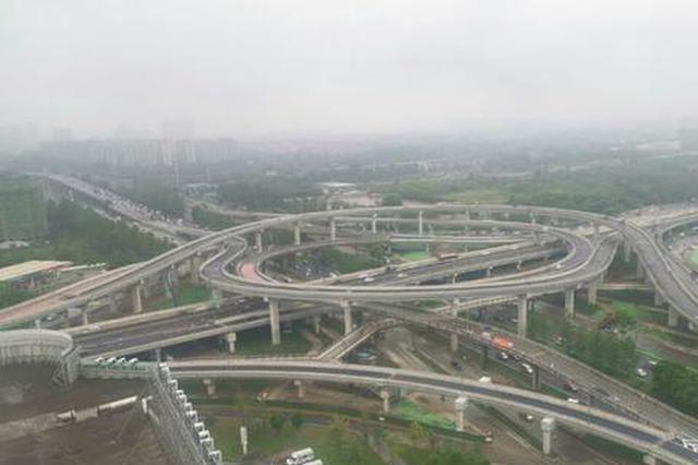 成都三环路凤凰立交节点改造项目将建成通车