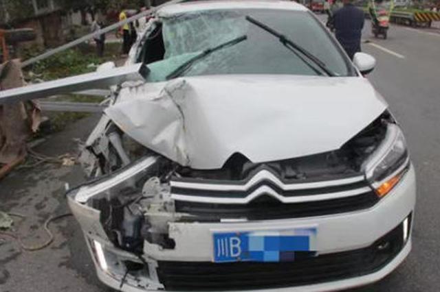 绵阳三台一机动车偏离机动车道引事故 负主要责任