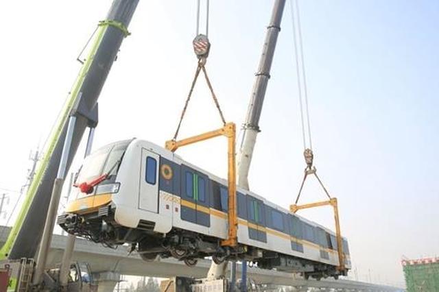 """成都地铁首列全自动运行列车来了 有这些""""黑科技"""""""
