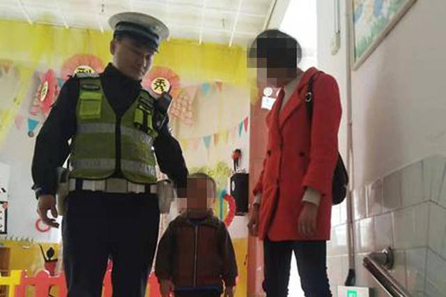 心太大!广安一4岁男孩走丢 母亲淡定做美甲