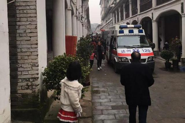 四川清河古镇一建筑垮塌5人被困续:2死1伤 正在排查周边