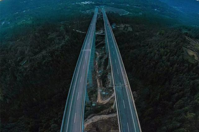 巴万高速公路巴州至通江段今日开通 设计时速80公里