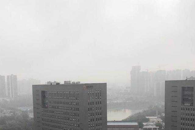 自贡启动重污染天气橙色预警 实行2个车牌尾号一组轮换限行