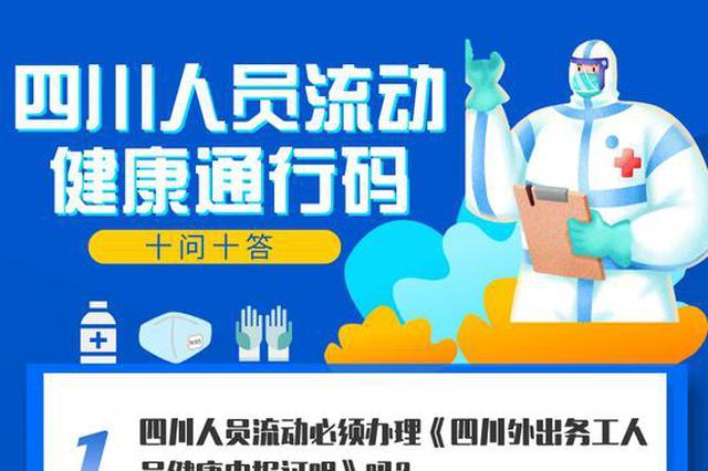 权威发布丨四川人员流动健康通行码十问十答