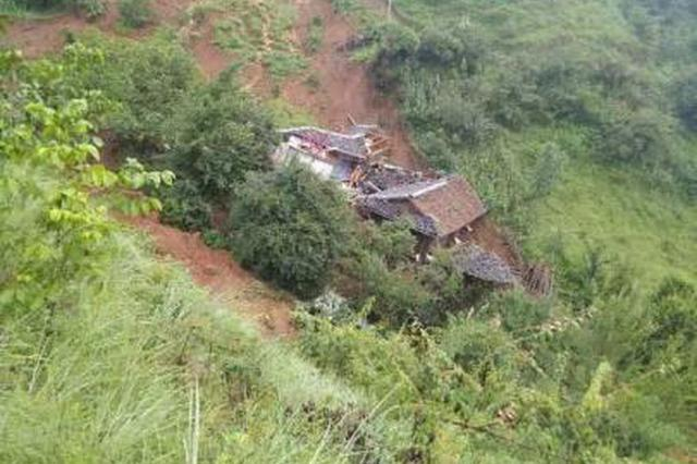 四川凉山州木里县突发滑坡 63户280人成功避险无人员伤亡