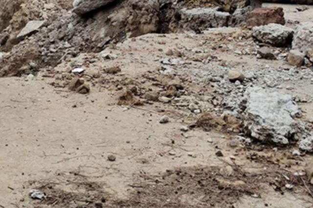问政四川丨家门口的路被毁数月未修复 村民投诉政府不作为