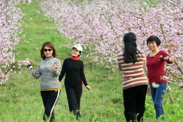 四川:春回大地 市民尽享烂漫春色