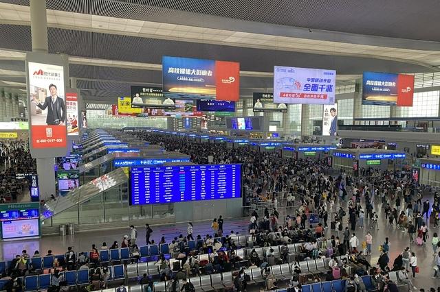 川渝黔三地国庆假期预计发送铁路旅客1350万人次