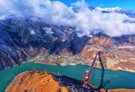飞越二郎山俯瞰兴康特大桥