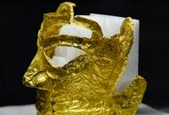三星堆新出土完整金面具