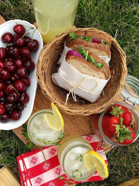 野餐食物 图片拉源自PinterestKat Alli