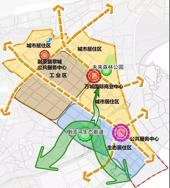 城南规划正在一一兑现(图片中城字有误,正确为:万诚)