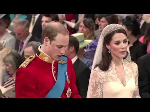 2011年威廉王子和凯特的婚礼直播画面