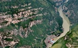 大渡河峽谷:壁立千仞 云霧繚繞
