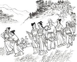 旧时德昌端午节