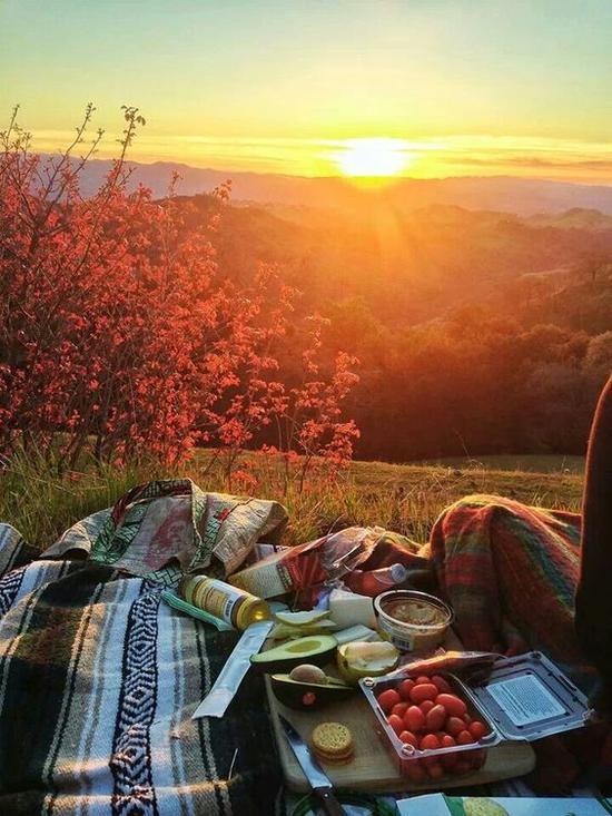 野餐准备 图片来源自Pinterest@Sophia