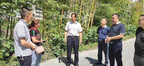 雅安市委常委、政法委书记戴华强一行到宝兴调研指导工作