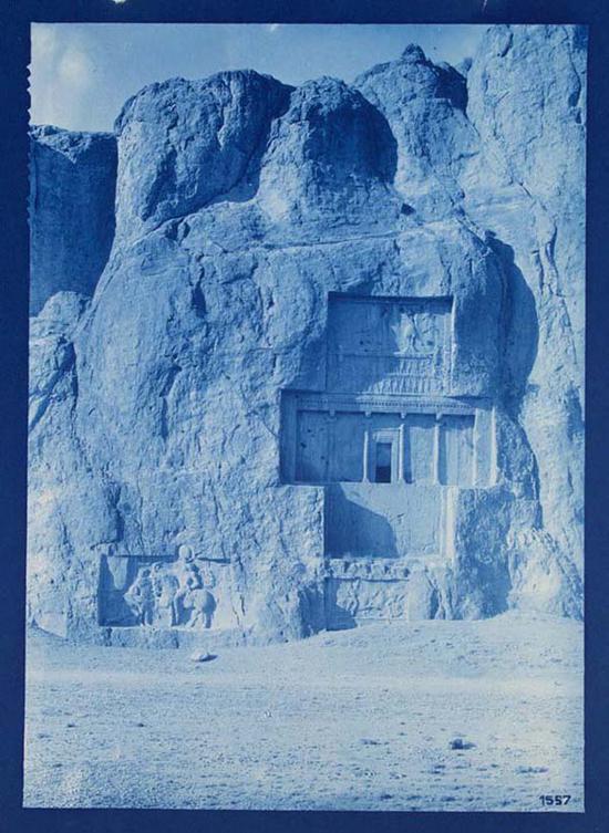 洛斯达姆 恩斯特·赫兹菲尔德(Ernst Herzfeld,约1904–1934年) 氰版摄影 佛利尔与赛克勒美术馆藏