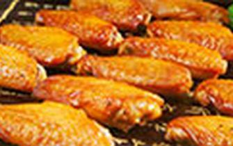 少吃油炸和蜜汁鸡翅