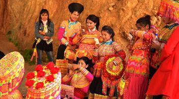 德昌县看古老独特的传统婚俗