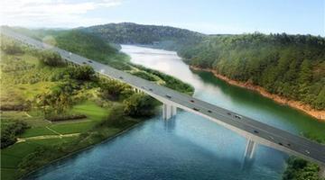 成資渝高速沱江特大橋已完成52.5%