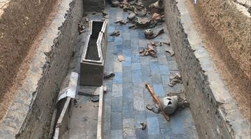 成都发现汉墓群 墓主或为东汉地方豪强