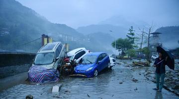 阿坝州多地因强降雨致1.27万人受灾