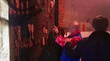 巴中男子偷腊肉 被警方抓获
