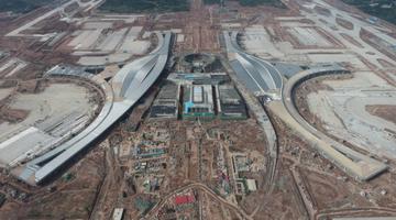 成都天府机场T1航站楼进入精装修阶段