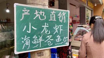 """四川小龙虾抢""""鲜""""上市价格偏高"""