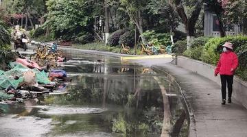 """成都府河旁多了一条""""污水河""""?"""