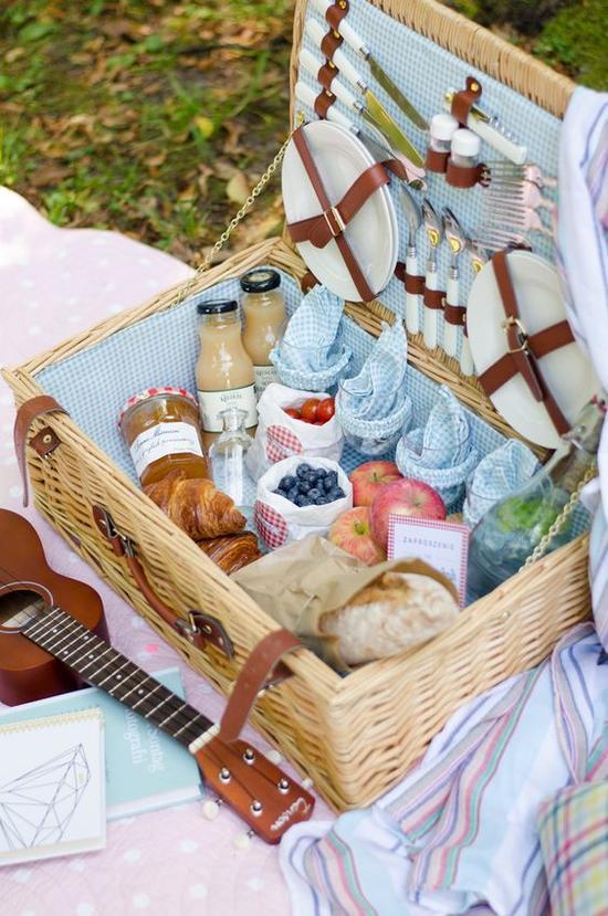 野餐篮 图片来源自Felicity