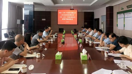 四川省经济合作局机关党委书记李骏陪同企业到雅安经开区考察