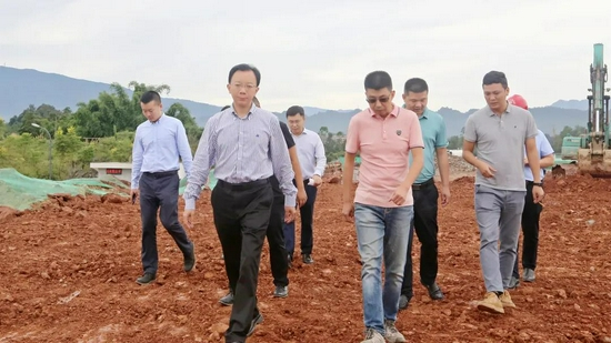 李东督导重点项目建设进度
