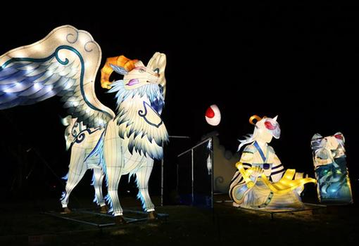 首届天府芙蓉园国际灯彩节即将举办