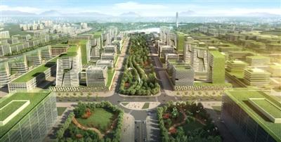 简阳空天产业园设计效果图
