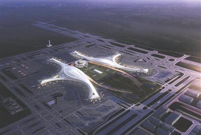 天府国际机场规划图