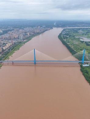飞阅宜宾南溪仙源长江大桥