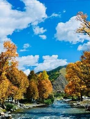 最壮美的甘孜高原秋景 一眼就会被迷住